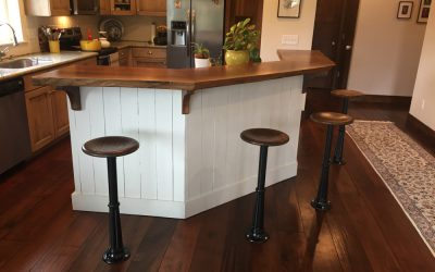 Amy loves the charm of TakenBarstools in her own kitchen